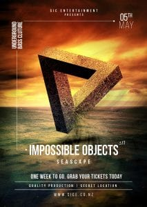 Impossible Objects Δ17 - Seascape