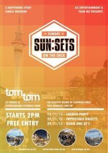 SUN:SETS at Tom Tom (Nov-Mar 2015)