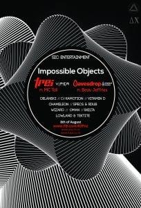 Impossible Objects - Δ X Ft. TREI & MC Tali