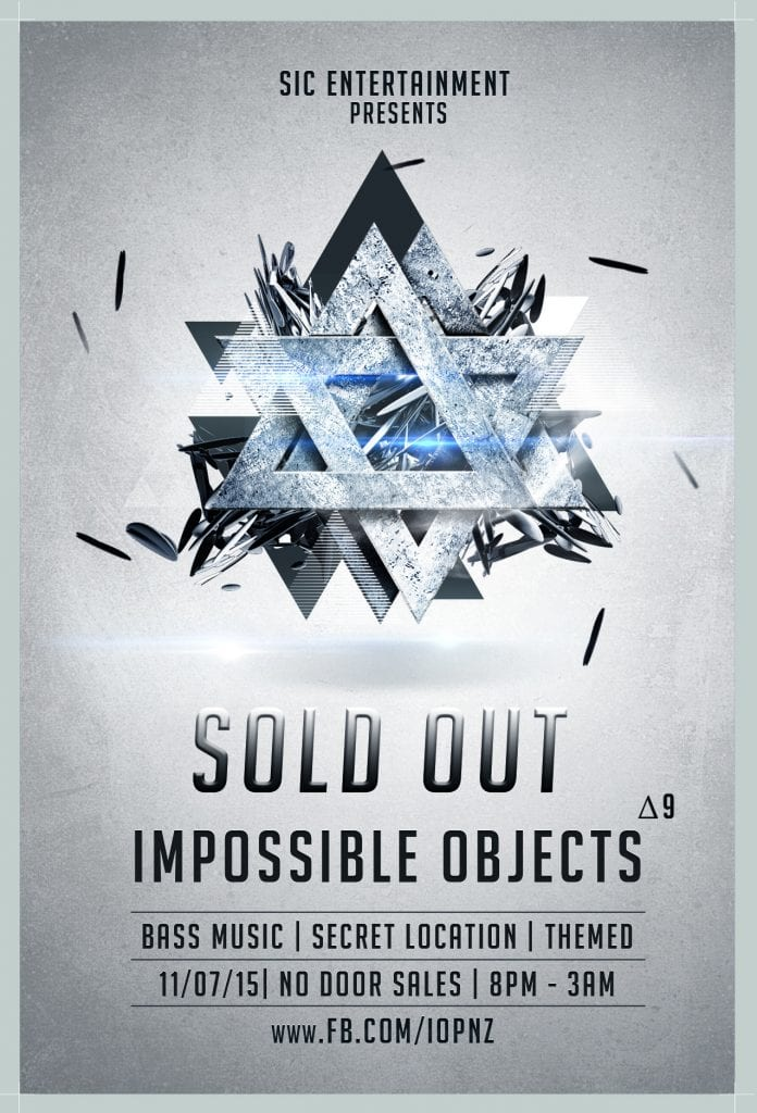 Impossible Objects - Δ9 (Sold Out)