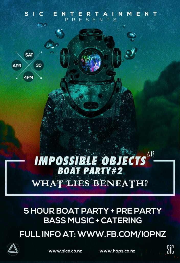 Impossible Objects 12 - What lies beneath? (Boat Party)