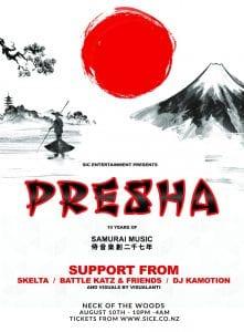 SiC Entertainment Presents Presha