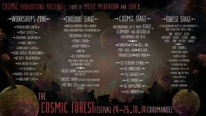 Cosmic Forest Festival IO Stage