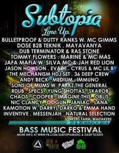 Subtopia Bass Music Festival