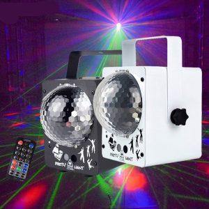 Disco Ball RGB With 60 Patterns & RG Laser