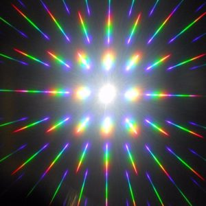 Diffraction Glasses - Firework Pattern (Various Colours)