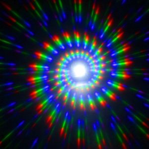 Diffraction Glasses - Spiral Pattern (Various Colours)