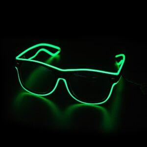EL Wire Glasses - Neon (Various Colours)