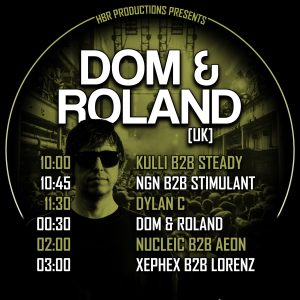 HBR Productions presents Dom & Roland