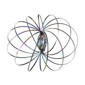 Kinetic Flow Rings - Stainless Steel Spring Toy (Various Options)
