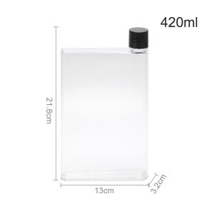 Drinks Bottle - A5/A6 Notebook Water Bottle (Various Options) - France, A5 White