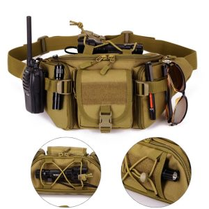 Utility Fanny Pack - 5 Pocket, Water resistant, Heavy Duty (Various Options)