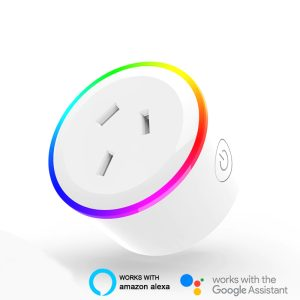 Smart Wifi Plug Socket with RGB Light