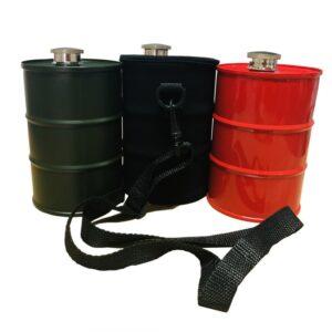 Drinks Bottle / Flask - 740ml, Stainless Steel Drum (Various Options)
