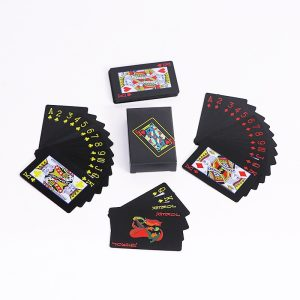 Playing Cards- Multicolor, Frosted, Waterproof