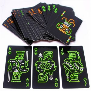 Playing Cards Fluorescence Paper