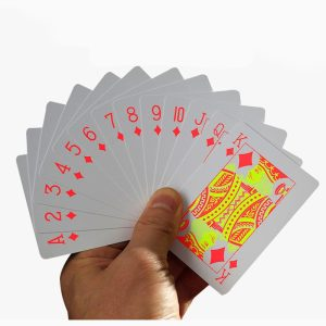 Playing Cards Fluorescence, Frosted, waterproof