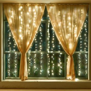 USB LED Curtain Fairy Light - 8 Modes (Various Options)