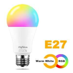 WiFi Smart Light Bulb - Dimmable, E27/B22/E14 (Various Options)