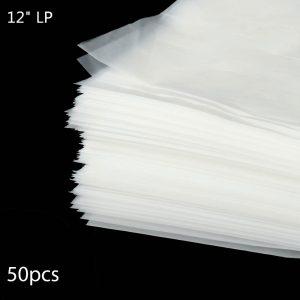 """Vinyl Inner Anti-static Sleeves for 12"""" Records - 50pcs"""