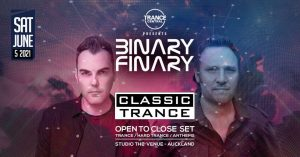 Binary Finary - Classic Trance Auckland