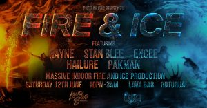 freq music presents the FIRE & ICE drum & bass send!