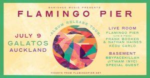 Flamingo Pier album release party AUCKLAND (FULL BAND)