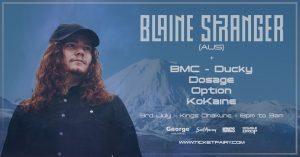 Blaine Stranger (Aus) - Drum & Bass - Viper recordings