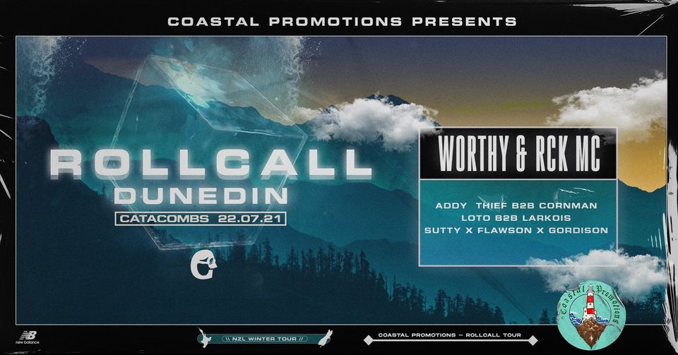 Coastal Promotions Presents: Rollcall - Dunedin
