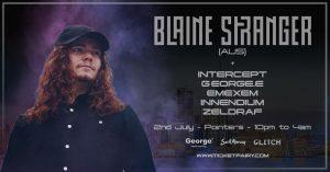 Blaine Stranger (Aus) - Auckland