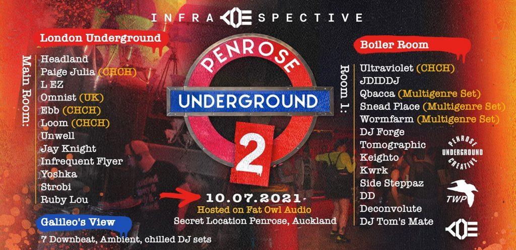 Infraspective: The Penrose Underground 2