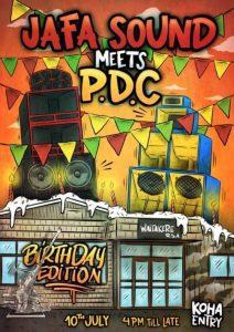 "Jafa Sound meets PDC ""birthday edition"""
