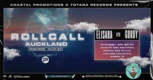 Coastal X Totara Present: Rollcall - Auckland