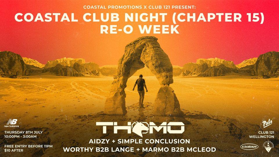 Coastal Club Night (Chapter 15) - Re-O Week ft. THOMO
